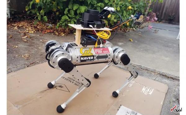 سگ رباتیک راهنما ویژه افراد نابینا معرفی گردید سگ رباتیک راهنما ویژه افراد نابینا معرفی گردید