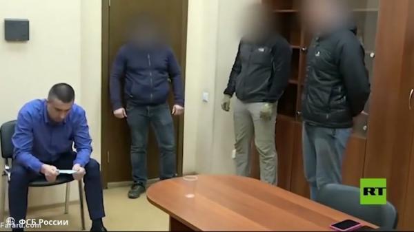 (ویدئو) لحظه دستگیری سرکنسول اوکراین در سن پترزبورگ