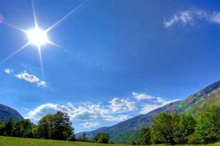 هوا در بیشتر مناطق کشور صاف و آفتابی است