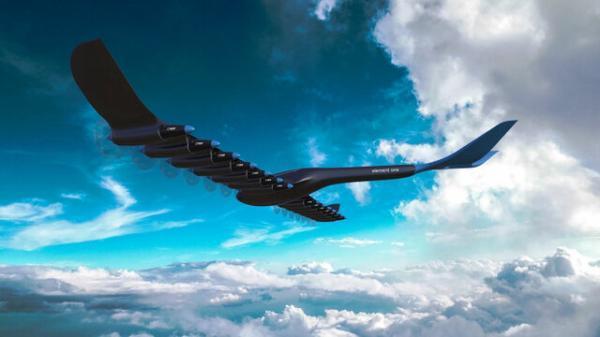اولین هواپیمای مسافربری هیدروژنی، برقی رونمایی شد