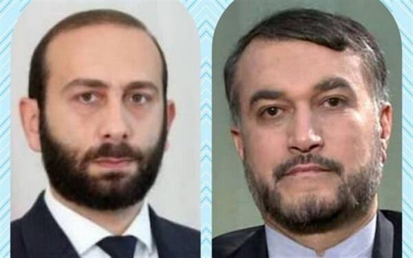 تاکید وزرای خارجه ایران و ارمنستان بر لزوم توسعه همکاری های تجاری