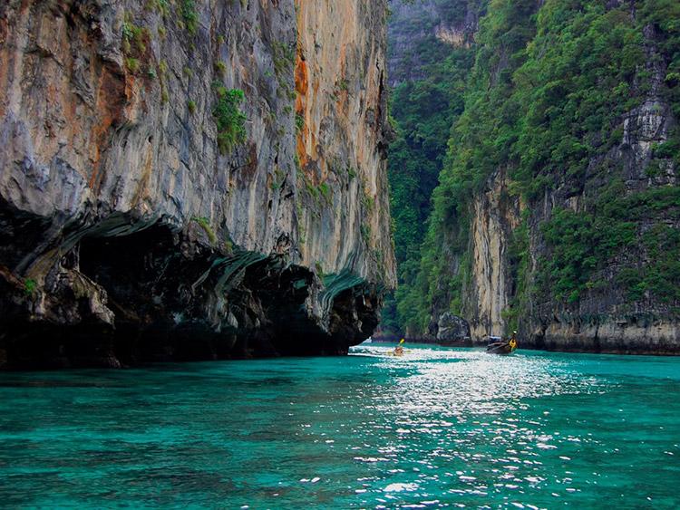 زیباترین سواحل کشور تایلند